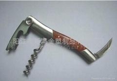 wood handle corkscrew