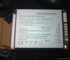 110V美標用金鹵燈電子鎮流器35W/50W70W