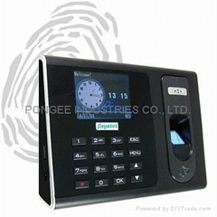 Fingerprint & proximity card access controller & time recorder (Hot Product - 1*)