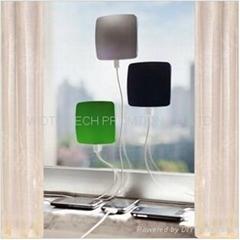 貼窗太陽能移動電源