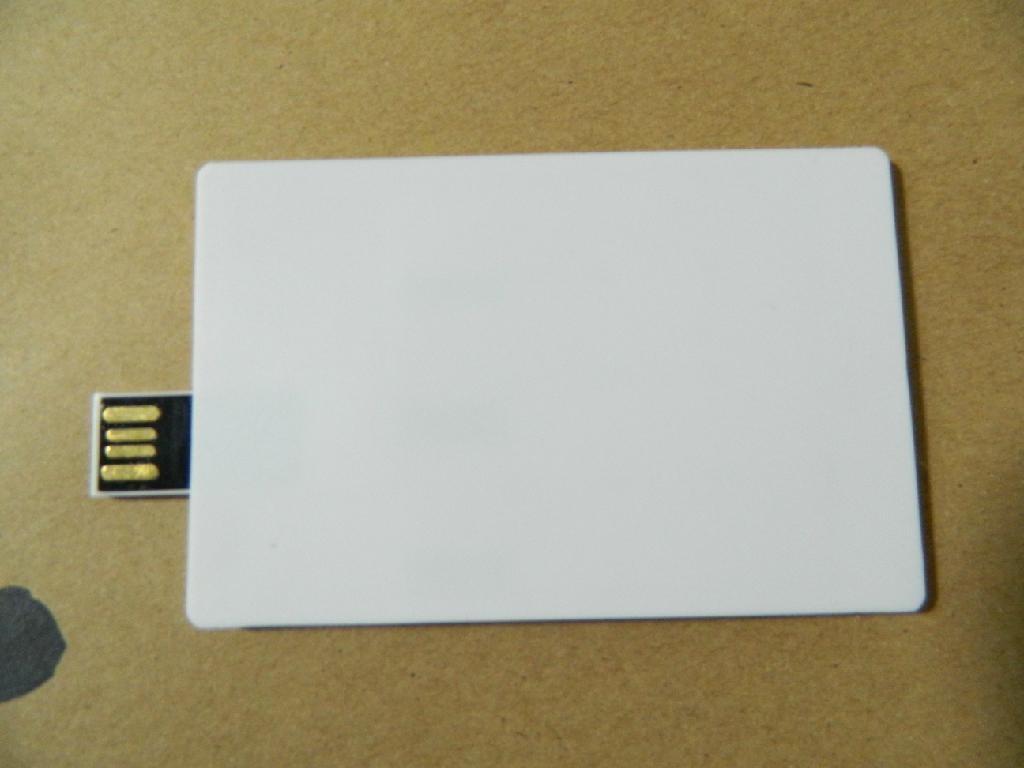 credite card shapes usb flash drive 2