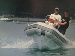 Rigid inflatable boat Rib boat rescue boat