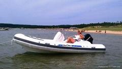 rib boat sports pleasure boat rigid inflatable Boat
