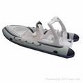 Sports boat pleasure boat rigid