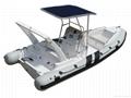 rib boat rigid inflatable boat sports