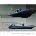 rib patrol inflatable boat military boat