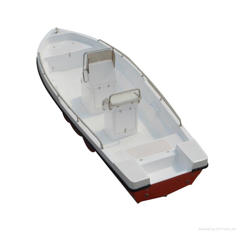 Fishing boat rescue boat GRP Power boat 1
