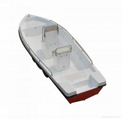 Fishing boat rescue boat GRP Power boat