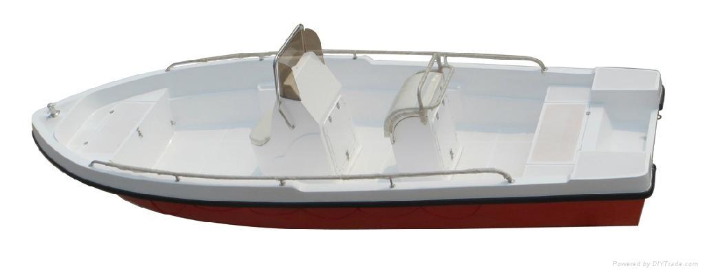 Fishing boat rescue boat GRP Power boat 3