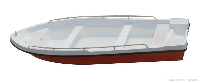 Fishing boat rescue boat GRP Power boat 4