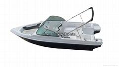 sports boat bowrider speed boat fishing boat