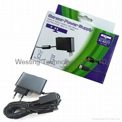 AC adapter Power Supply for XBOX360 Kinect Sensor (EU Plug)