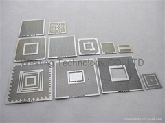 PS3 XBOX 360 WII GPU CPU CSP CACHE HANA Direct Heat Bga Stencil Template Kit (11