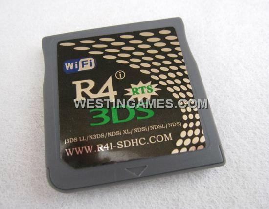 R4i-SDHC RTS V5.0.0-11 Flash Card Red Packing for NDSL/DSi/DSixl/3DS 3