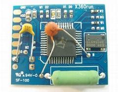 X360Run Glitcher Board with 96MHZ Crystal Oscillator Build for All XBOX360 Slim