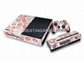 Crystal Epoxy Skin Sticker Colourful for XBOX ONE System + Wireless Controller  3