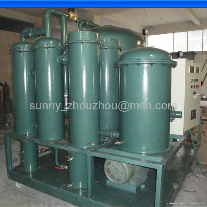 TWO-STAGE MULTIFUNCTION VACUUM OIL PURIFIER SERIES 1