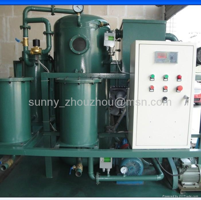 TWO-STAGE VACUUM OIL PURIER SERIES 1