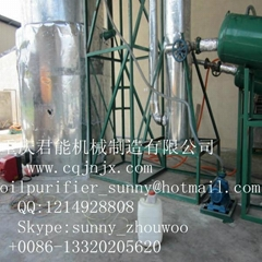 black synthetical oil distillation and refinery equipment