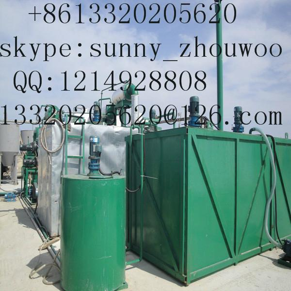 oil recycling equipment to base oil through vacuum distillation  2