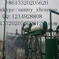 oil recycling equipment to base oil through vacuum distillation  3