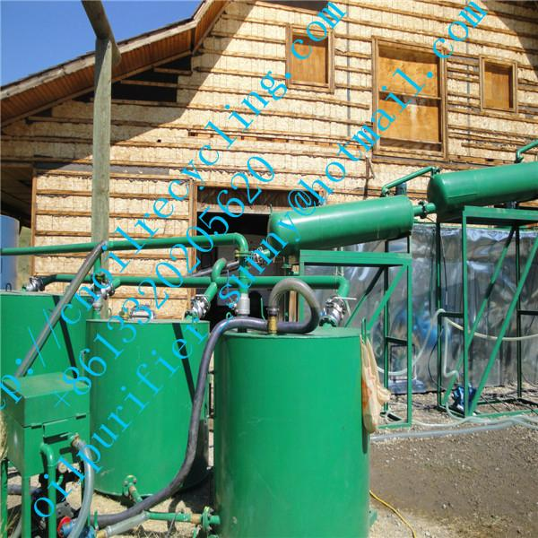 motor oil recycling plant to biodiesel and fuel oil 1
