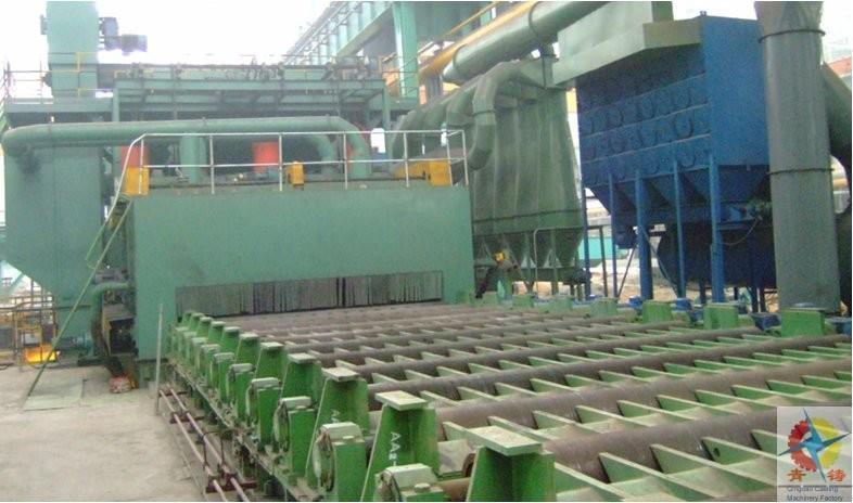 鋼材預處理線 4