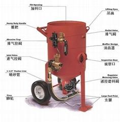開放式式自動噴砂機噴砂罐噴丸罐