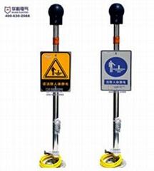北京华科HK3095-33人体静电消除器