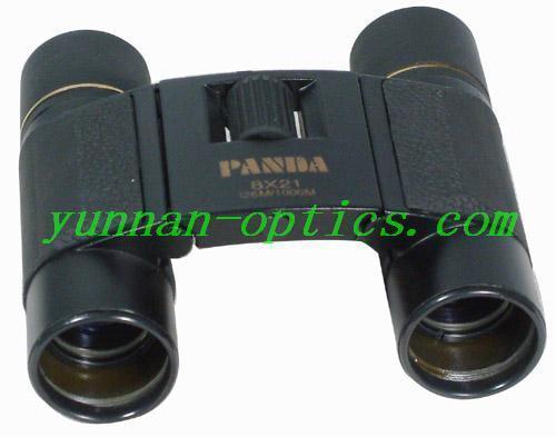 望遠鏡廠,玩具望遠鏡,熊貓望遠鏡8X21(人革) 1
