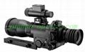 Night vision350, gun aiming mirror