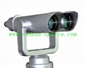 coin operated high power binocular 20X100,quite clear 2