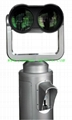 coin operated high power binocular 20X100,quite clear 4