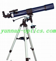 Astronomical telescope 80x900EQ,easy to use