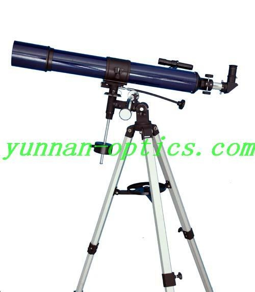Astronomical telescope 80x900EQ,easy to use 3