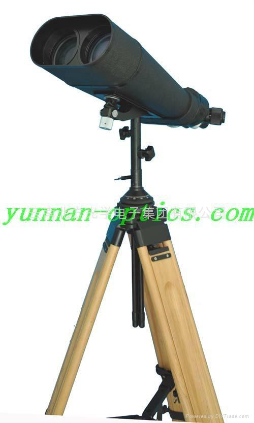 哨所鏡,高倍望遠鏡