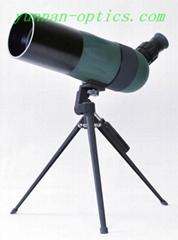 小型觀鳥鏡 便攜觀靶鏡 F35080折射式觀靶鏡