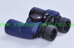 Outdoor Binocular 7X30L,Compact Waterproof Compass