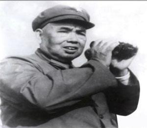 许世友将军在对越自卫反击战前线