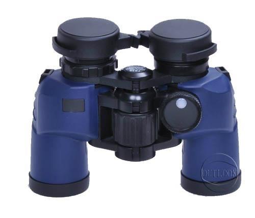獵人帶羅盤防水望鏡7X30C