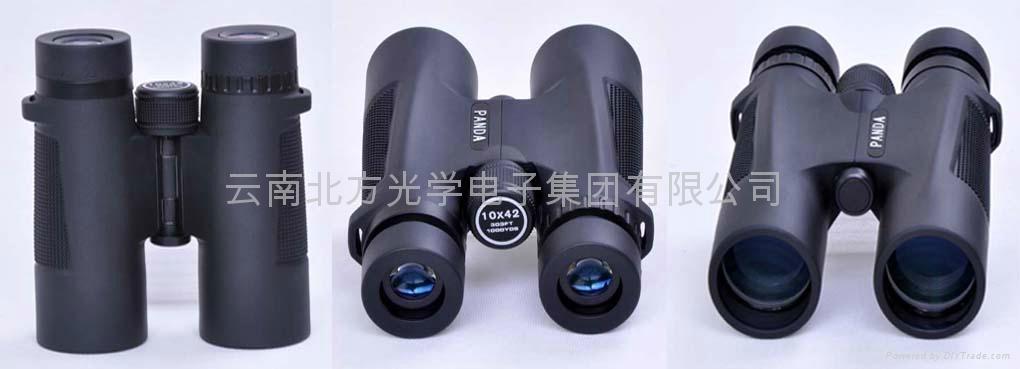 熊猫望远镜直筒10X42