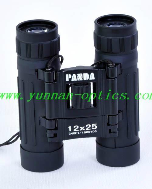 outdoors binocular 12X25, panda compact  1