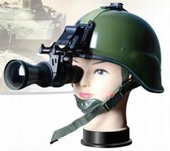 夜视望远镜,头盔式热像观察镜