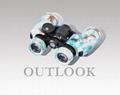 猎人望远镜,双筒7X30带罗盘望远镜