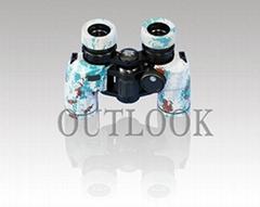 獵人望遠鏡,雙筒7X30帶羅盤望遠鏡