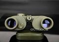 双筒望远镜8x30带指北针,绝境中的指路者.