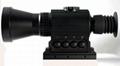 多功能熱成像夜視儀既可瞄準,也可用於手持觀察,搜索目標