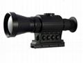 多功能热成像夜视仪既可瞄准,也可用于手持观察,搜索目标