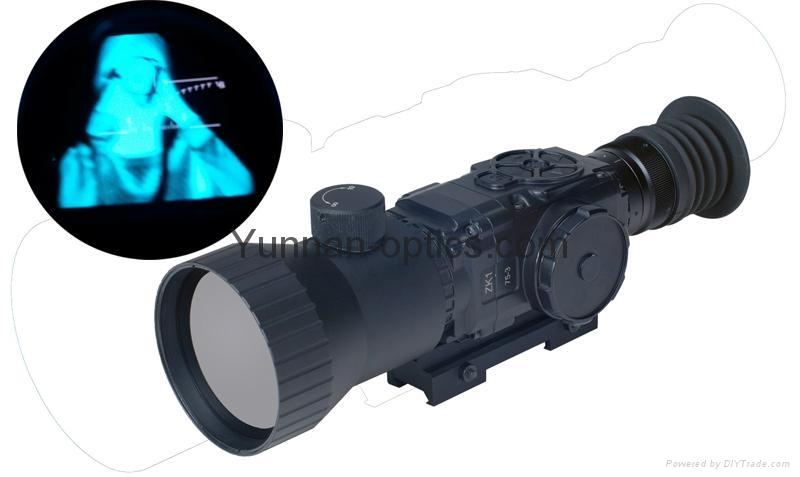 能白天和晚上都能使用的夜視望遠鏡,熱像儀,熱成像槍瞄鏡 1