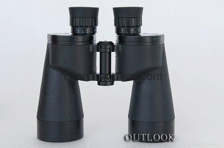 远锦10X50双筒望远镜(战鹰)采用了广角大视场的设计,视野很开阔